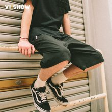 VIISHOW夏装新品休闲短裤男运动短裤子男士五分裤绑带抽绳潮KD1272172