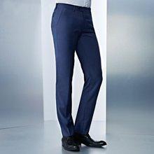 Evanhome/艾梵之家 修身款男士西装长裤藏青色商务正装西裤男式免烫小脚裤子EVXK091