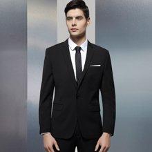 Evanhome/艾梵之家 男士商务西装套装修身职业西服二件套装休闲西装外套男EVXF044