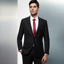 Evanhome/艾梵之家 春季新款男士商务正装西服套装礼服套装男黑色 EVXF064