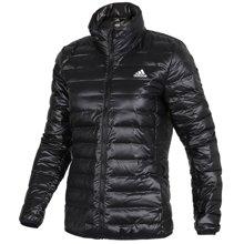 Adidas/阿迪达斯 女子轻薄保暖立领运动羽绒服 BQ1982