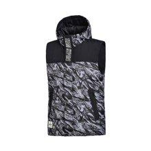 李宁羽绒马甲男士2017新款运动时尚系列保暖冬季80%白鸭绒运动服AMRM011