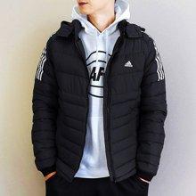Adidas/阿迪达斯 男子超轻运动连帽羽绒服 BQ8574