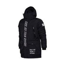 李宁中长款羽绒服男士运动时尚保暖80%白鸭绒运动服AYMM081