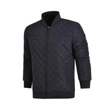 李宁短款棉服男士足球系列保暖上衣立领男装运动服AJMM023