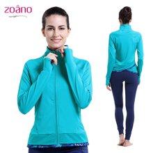 Zoano/佐纳 新款瑜伽服外套女士运动夹克外套开衫拉链上衣跑步服