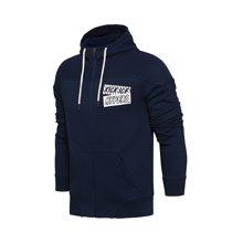 李宁卫衣男士运动时尚系列开衫长袖外套连帽冬季运动服AWDM647