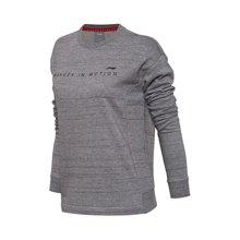 李宁卫衣女士训练系列套头衫长袖圆领上衣女装秋季运动服AWDM654
