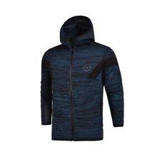 李宁卫衣男士韦德系列开衫长袖外套休闲上衣男装运动服AMBM027