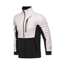 李宁卫衣男士训练系列开衫外套保暖立领上衣冬季运动服AWDM655