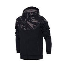 李宁卫衣男士2017新款篮球系列开衫长袖外套休闲上衣男装运动服AWDM331