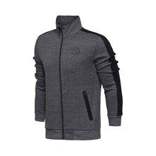 李宁卫衣男士2017新款韦德系列开衫长袖外套休闲运动服AWDM401