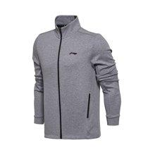 李宁卫衣男士2017新款训练系列开衫长袖外套立领上衣男装运动服AWDM339