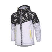 李宁风衣男士运动生活系列开衫长袖防风服外套运动服AFDM145