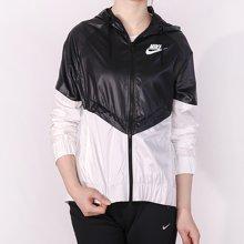 Nike/耐克 女子运动梭织防风连帽风衣 804948-010