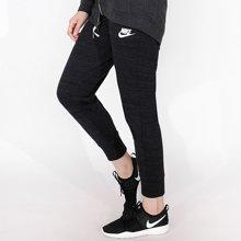 Nike/耐克 女子休闲跑步透气修身收脚长裤 837463-010