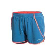 李宁女子吸湿排汗速干跑步短裤运动裤女运动服AKSK142