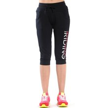 德尔惠2017年夏季新款女针织裤舒适休闲透气运动七分裤62620325