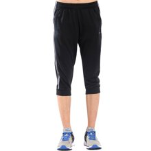 德尔惠2017夏季男士新款短裤舒适休闲透气运动针织七分裤男裤