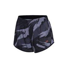 李宁运动短裤女士跑步系列速干夏季凉爽针织运动裤AKSL198