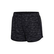 李宁短裤运动短裤女士跑步系列反光梭织运动裤AKSM078