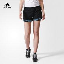 Adidas/阿迪达斯女子训练针织短裤 BQ8476