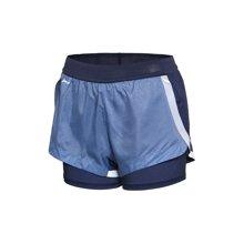 李宁短裤运动短裤女士跑步裤反光女装运动裤AKSM122