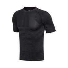 李宁短袖T恤男士篮球系列速干凉爽圆领潮流运动服ATSM173
