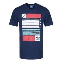 Adidas/阿迪达斯 三叶草男子运动休闲圆领短袖T恤 BQ3042