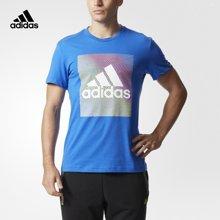 Adidas/阿迪达斯 男子运动型格短袖T恤 CG1658