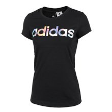 Adidas/阿迪达斯 女子休闲运动短袖圆领透气T恤CD1120