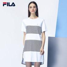 FILA/斐乐 女子纯棉运动短袖连衣裙 26733210
