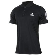 Adidas/阿迪达斯 男子宽松速干透气翻领短袖POLO衫 BK0698