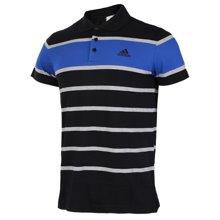 Adidas/阿迪达斯 男子训练运动短袖POLO衫 BK3286