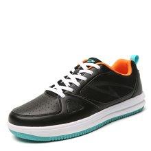德尔惠男鞋新款小白鞋板鞋男时尚休闲鞋春季百搭运动鞋男滑板鞋T51613897