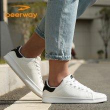德尔惠鞋子男女低帮滑板运动板鞋男韩版潮流春季休闲鞋学生板鞋女WP21823360