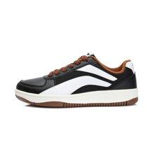 李宁休闲鞋男鞋运动生活系列Super Wave耐磨防滑滑板鞋运动鞋ALCK093