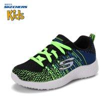 Skechers/斯凯奇 新款防滑跑步男中大童时尚运动鞋 97303L