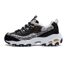 Skechers/斯凯奇 D|lites豹纹熊猫款女士运动鞋 99999833