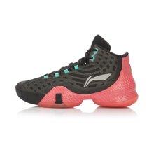 李宁篮球鞋男鞋篮球系列空袭III李宁云减震包裹战靴运动鞋ABAL043