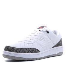 德尔惠男鞋2017白色板鞋男运动鞋春季男士休闲鞋篮球低帮小白鞋11613108