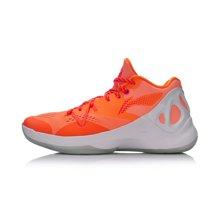 李宁篮球鞋男鞋篮球系列音速V 低帮李宁云扭转系统一体织运动鞋ABAM021