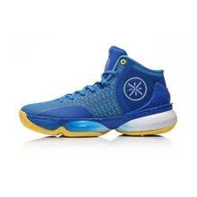 李宁篮球鞋男鞋第六人减震回弹包裹耐磨高帮运动鞋ABAM017
