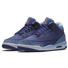 Air Jordan 3 GS Blue Cap AJ3 暗紫 蓝紫 爆裂 女 441140 506