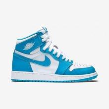 Air Jordan 1 OG GS UNC AJ1 北卡蓝 女子篮球鞋 575441 117