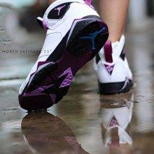 Air Jordan 7 GS Fuchsia Glow AJ7 白紫 熔岩 女 442960 127
