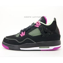 Air Jordan 4 GG Black Fuchsia AJ4 武媚娘 黑紫 705344 027