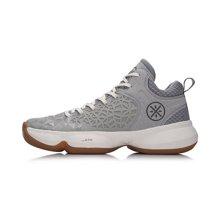 李宁篮球鞋男鞋韦德系列第六人II减震保暖中帮运动鞋ABAM049