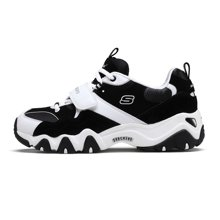 Skechers/斯凯奇 经典黑白熊猫 D lites²男女款时尚运动跑步鞋 99999088