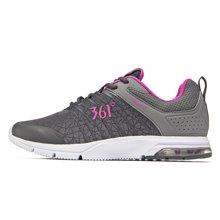 361女鞋2017秋季新款气垫鞋情侣运动鞋361度夜跑鞋女士休闲跑步鞋